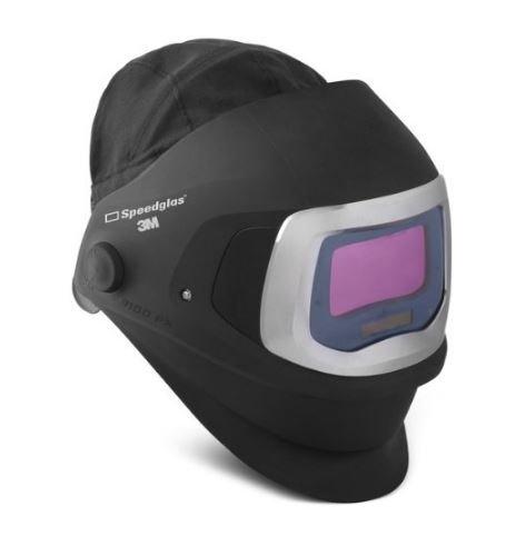 3M Speedglas 9100 FX Welding Helmet 06-0600-20SW, with SideWindows and ADF 9100X Shade 5, 8-13, 1...