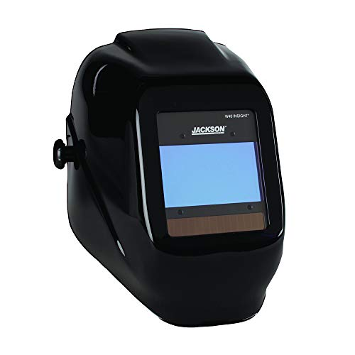 Jackson Safety Ultra-Lightweight Insight Variable Auto Darkening Filter Welding Helmet, Nylon, Halo...