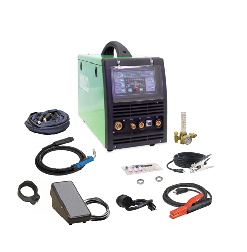 2019 Everlast Power Equipment PowerMTS 251Si Pulse MIG TIG Stick 250amp 110v/220v Multi Process...