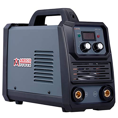 Amico ARC-160, 160-Amp Stick Arc & Lift-TIG Combo Welder, 100-250V Wide Voltage, 80% Duty Cycle,...