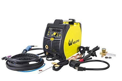 2020 Weldpro 200 Amp Inverter Multi Process Welder with Dual Voltage 220V/110V Mig/Tig/Arc Stick 3...
