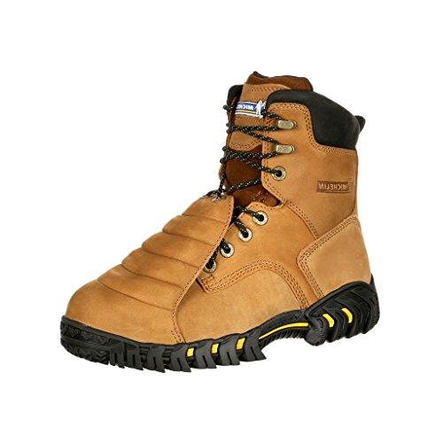 MICHELIN Men's 8' Sledge Metatarsal Eh Work Boot Steel Toe Brown 10.5 D