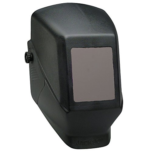Jackson Safety 14975 W10 HSL 100 Black Passive Welding Helmet, 5-1/4' Length x 4-1/2' Width (Pack of...