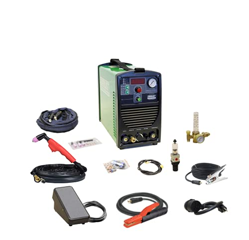 2021 SuperUltra 206Si 200 Amp TIG/Stick 50 Amp Plasma Cutter Multi Process Combo Welder Dual Voltage...