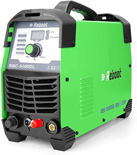 Plasma Cutter Non Touch 50 Amp Reboot CUT50DL 1/2' Clean Cut Pilot Arc 110V/220V IGBT Inverter Air...