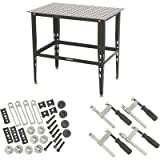 Klutch Steel Welding Table with Tool Kit...