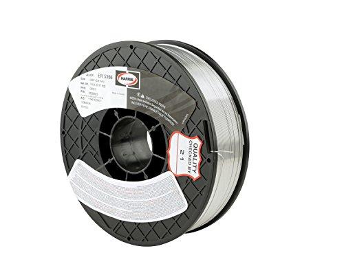 HARRIS 05356F1 5356 Aluminum MIG Welding Wire, 0.035' x 1 lb. Spool