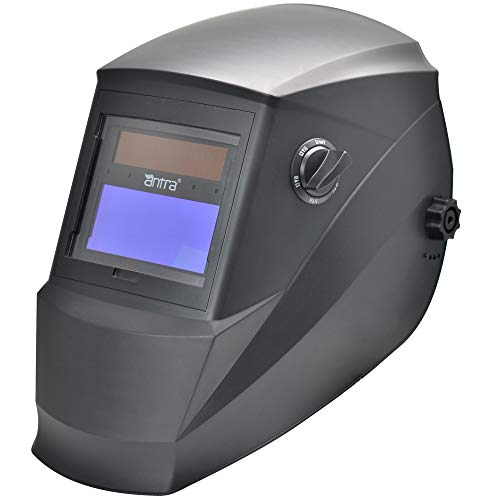 Antra Wide Shade Range 4/5-9/9-13 Auto Darkening Welding Helmet AH6-260-0000 Engineered for TIG...