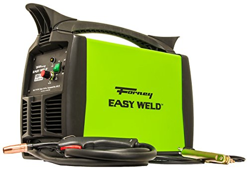 Forney Easy Weld 299 125FC Flux Core Welder, 120-Volt, 125-Amp,Green