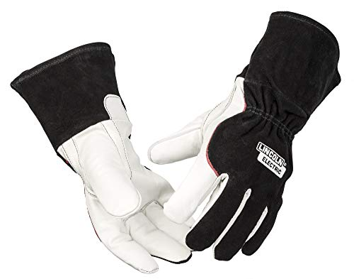 Lincoln Electric DynaMIG HD Professional MIG Welding Gloves | Comfort & Heat Resistance | Extra...