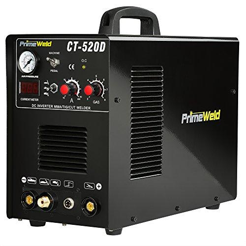 PrimeWeld 3-in-1 50 Amp Plasma Cutter, 200 Amp TIG Welder and 200 Amp Stick Welder - Welding and...
