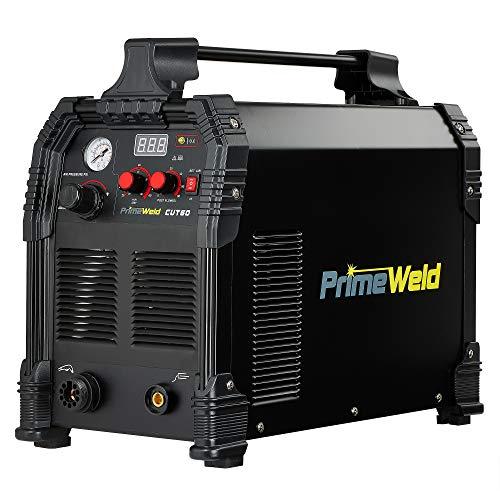 PRIMEWELD CUT60 60Amp Non-Touch Pilot Arc PT60 Torch Plasma Cutter 110V/220V Dual Voltage 3 Year...