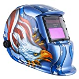 DEKOPRO Welding Helmet Solar Powered...