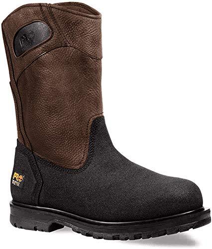 Timberland PRO Men's 53522 Powerwelt Wellington Boot,Rancher Brown,11 W