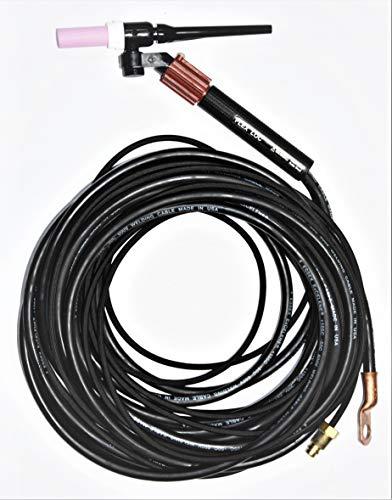 CK FL150 Air Cooled TIG Torch Kit, Flex-Loc Valve, 150A, 25', 1-Pc, Super-Flex, FL1525VSF