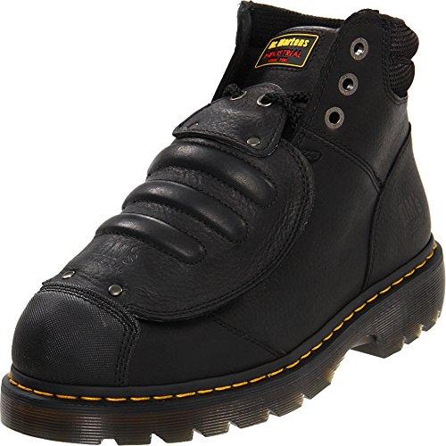 Dr. Martens - Men's Ironbridge Met Guard Heavy Industry Boots, Black, 11 M US