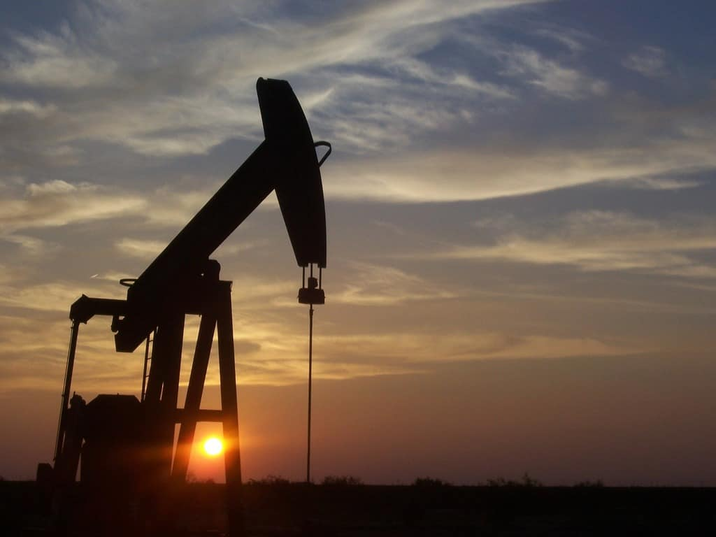 Image of an oil pump