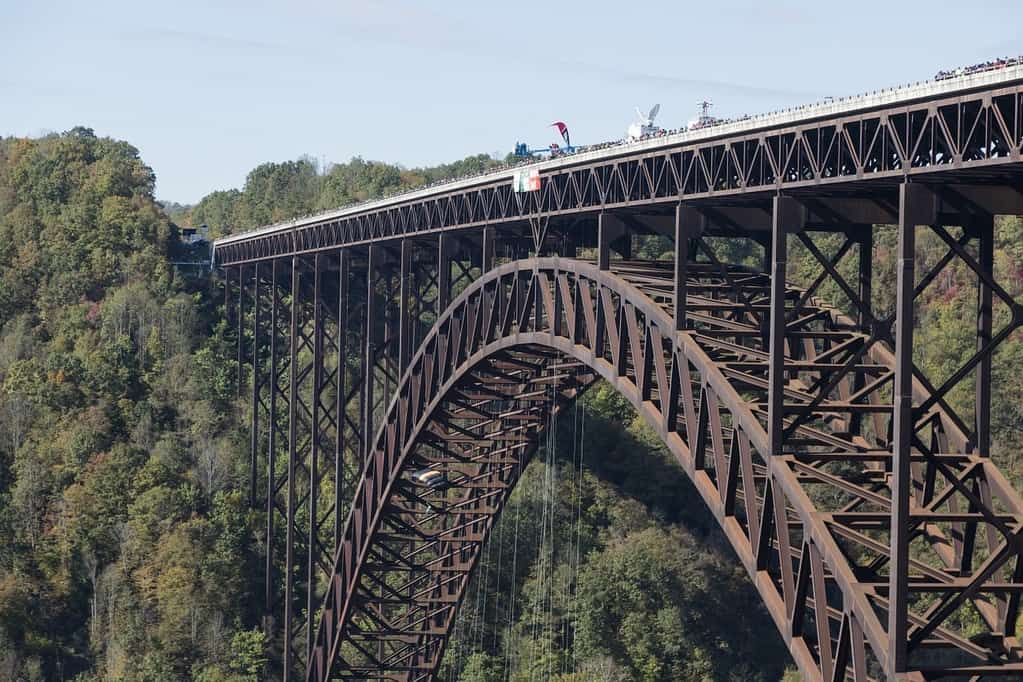 Image of a bridge in West Virginia