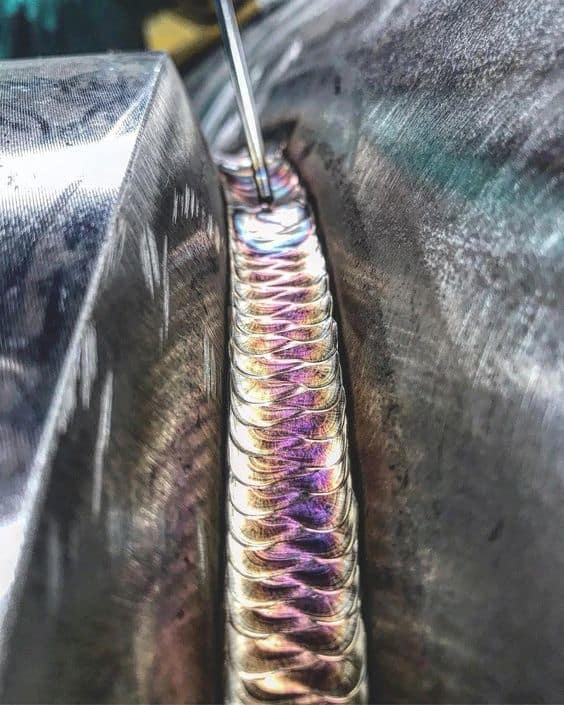 perfect looking TIG root pass from WeldingLife.info