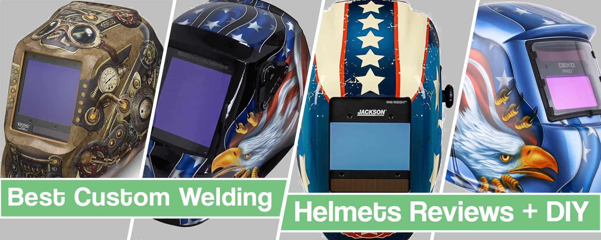 Feature image for Custom Welding Helmets review article