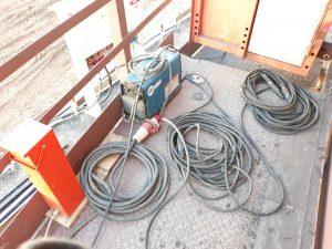 welding cable management