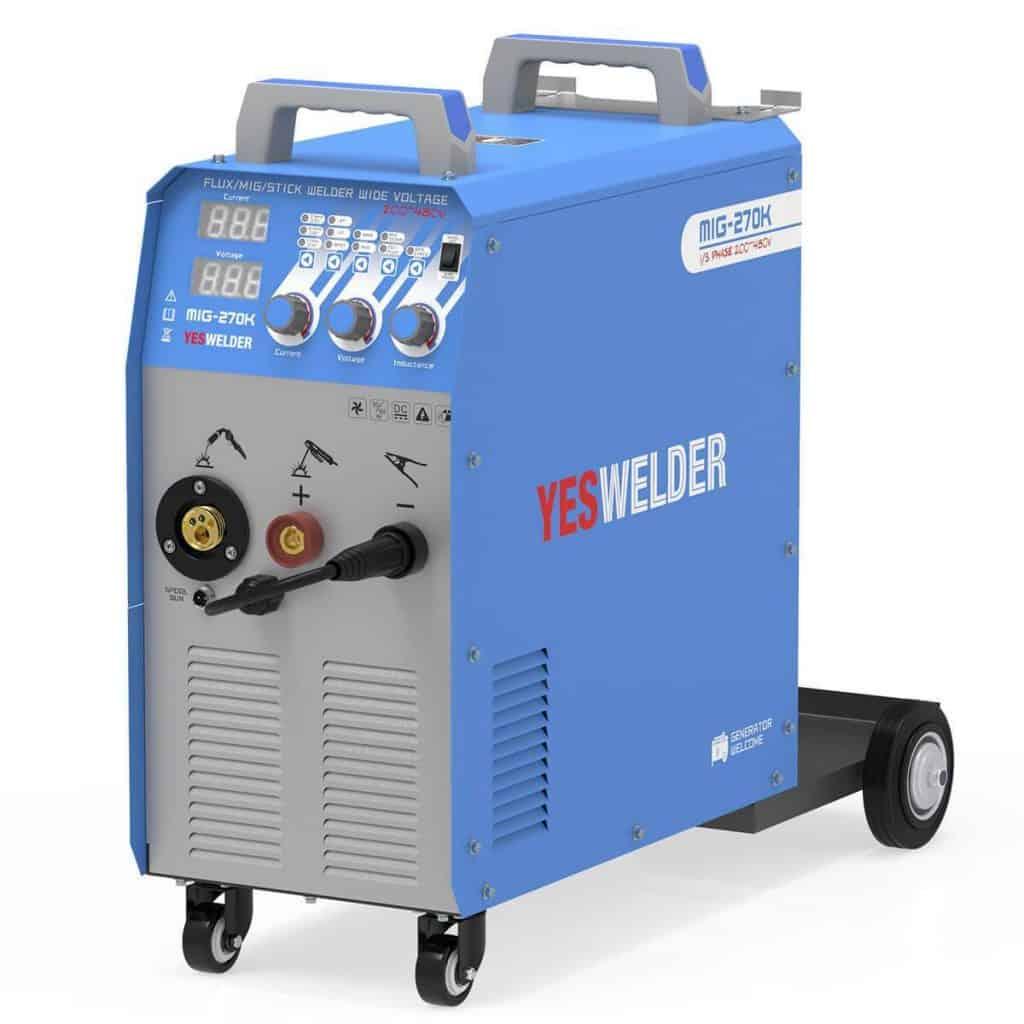 YesWelder 270 Wide Voltage Multi Process welder