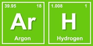 image of Argon and Hydrogen