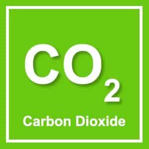 image of a carbon dioxide element