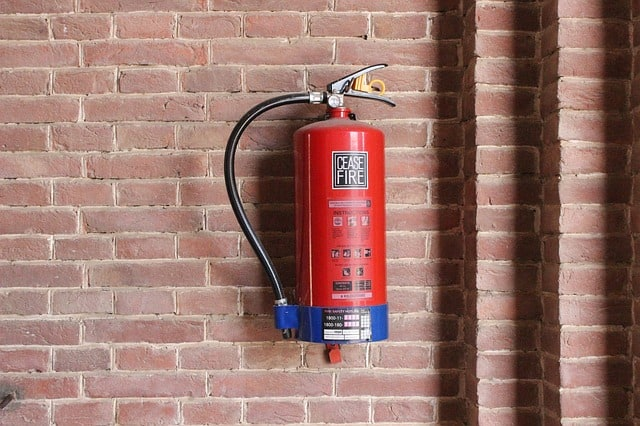 image of a fire-extinguisher