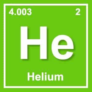 image of helium element