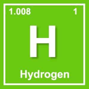 image of hydrogen element