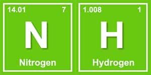 image of nitrogen and hydrogen