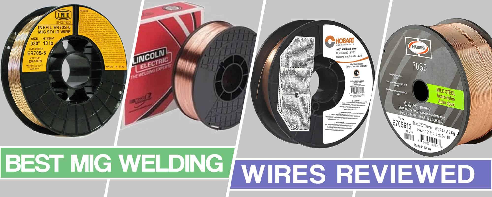 image of the best mig welding wires