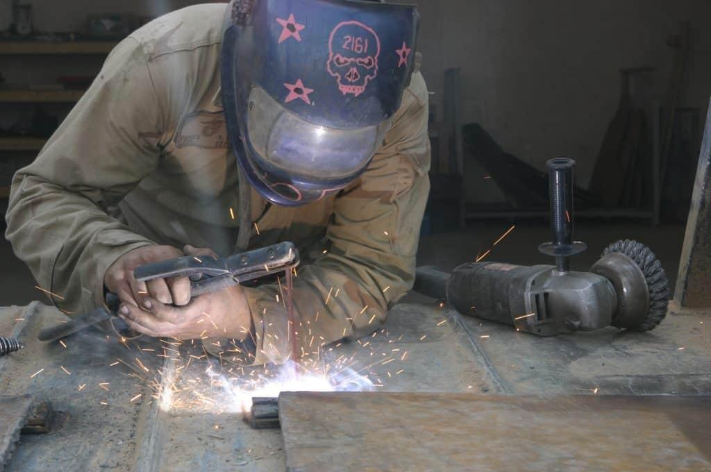 USMC Stick welding