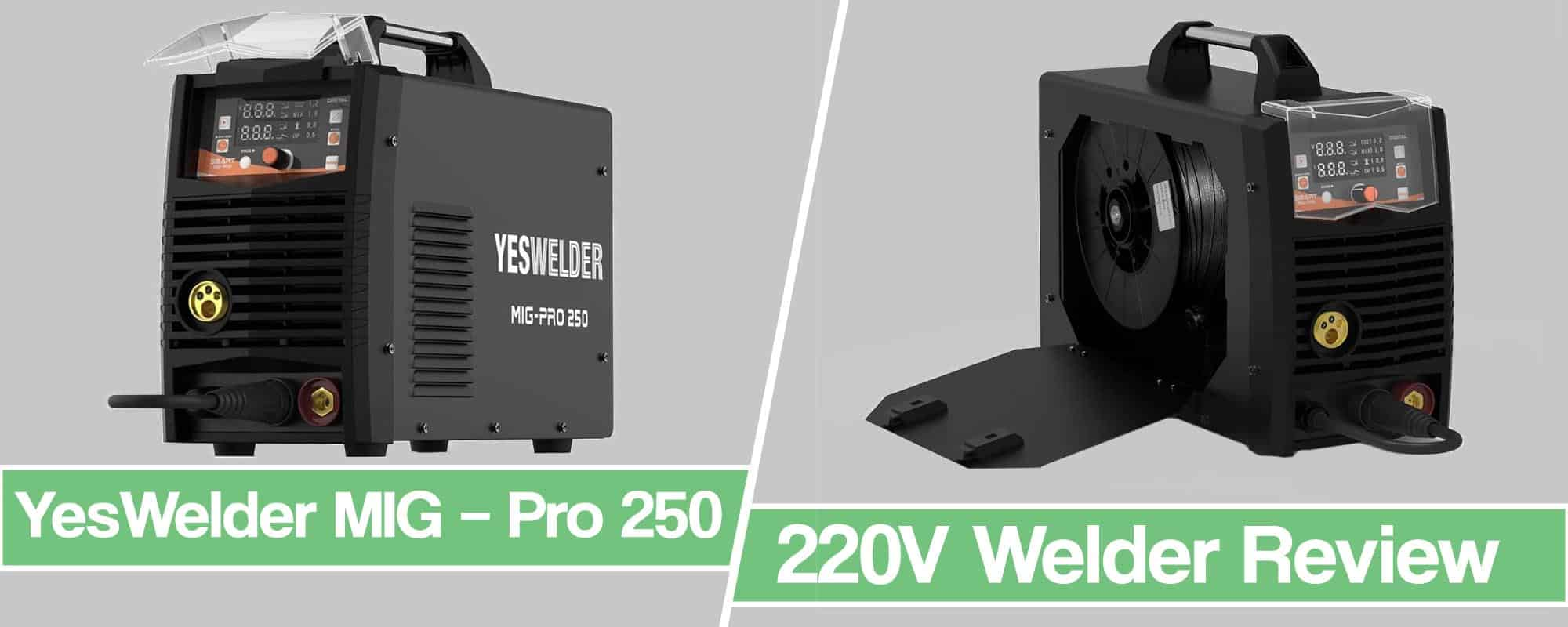 Feature image for YesWelder MIG – Pro 250 Review article