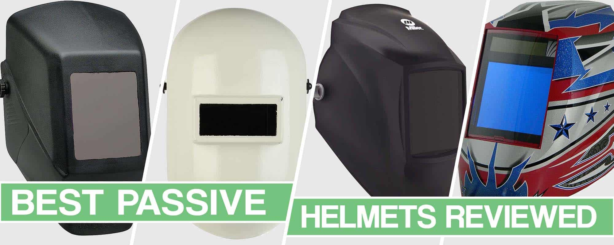 image of the best passive welding helmets