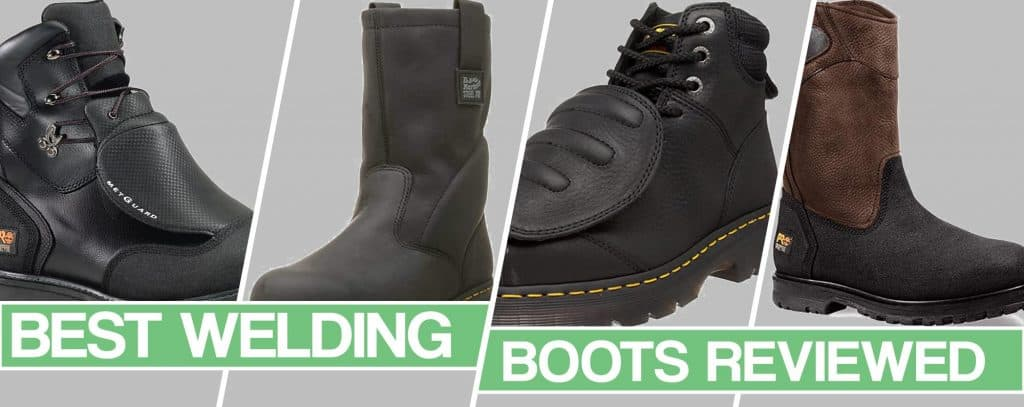image of the best welding boots