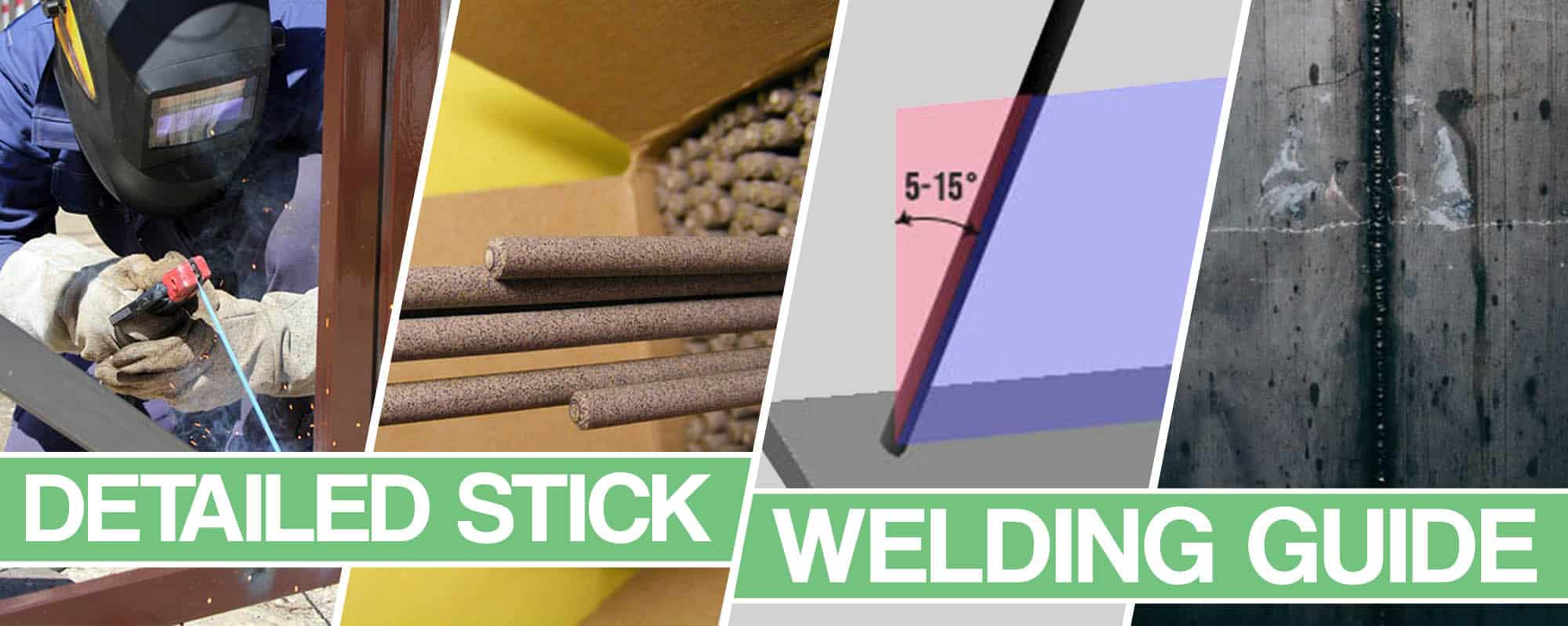 image showing how to stick weld