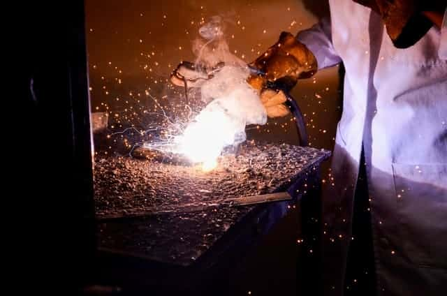 image of welding being done