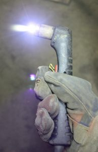 image of a plasma cutter