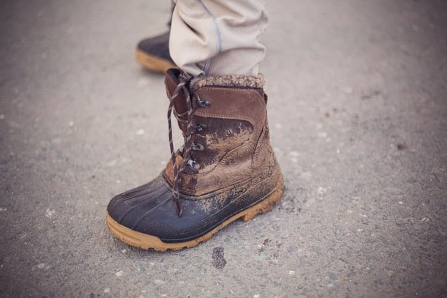image of the used boots