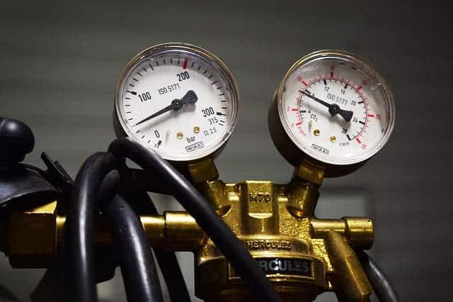 image of gas regulator