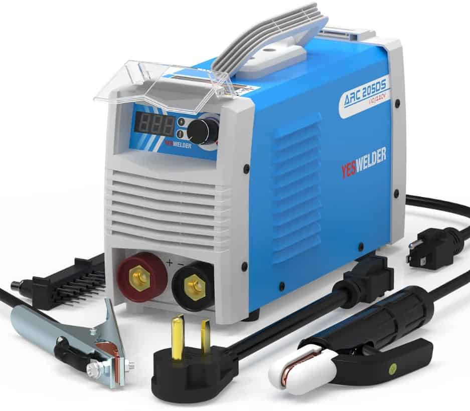 Image of the Arc Welder 205DS with stick lead