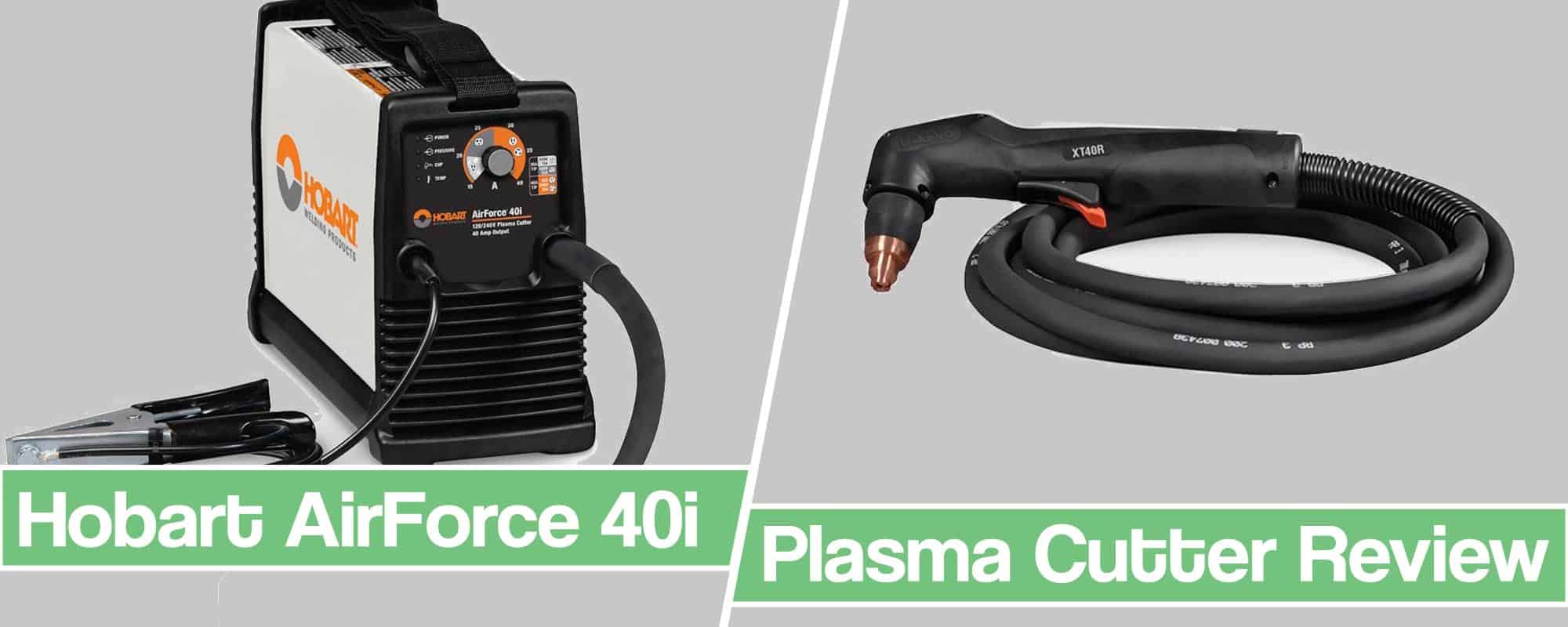 Feature image for Hobart 40i Plasma Cutter review article