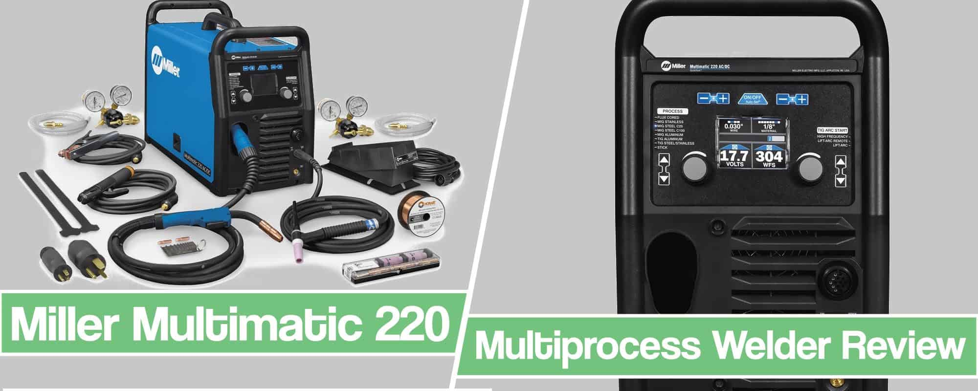 Feature image for Miller Multimatic 220 Review article