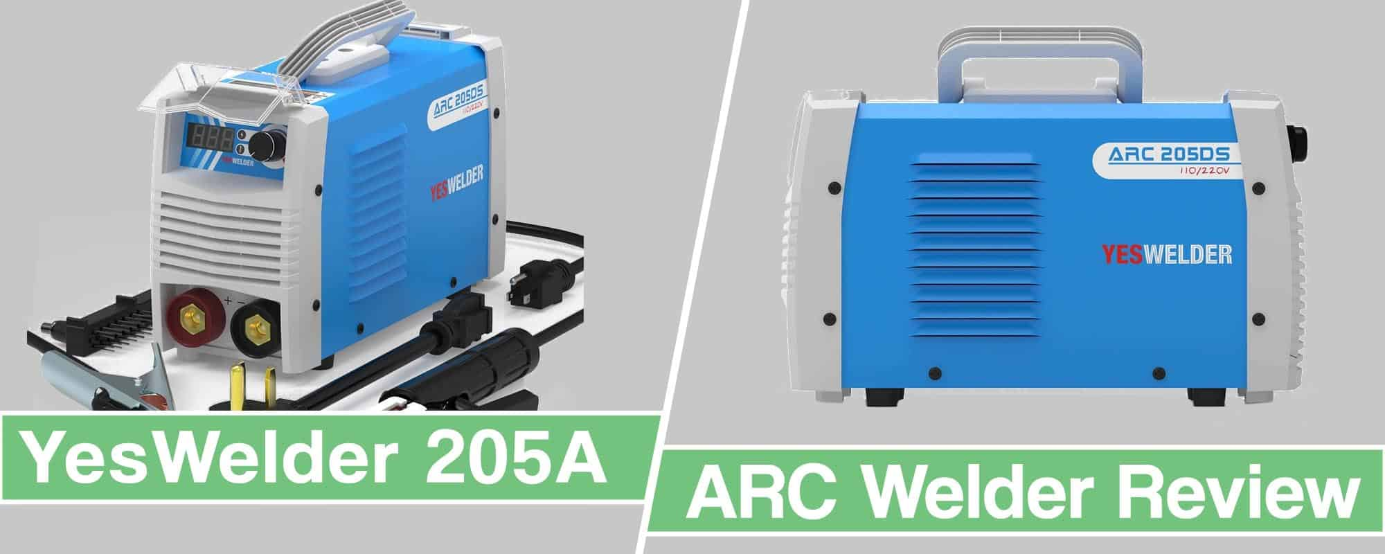Feature image for Yeswelder ARC Welder 205A Review review article