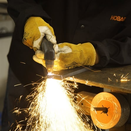 hobart airforce 40i cutting power of this plasma cutter