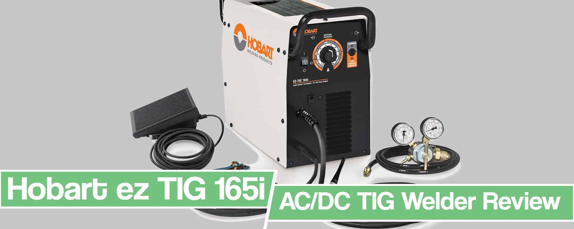 Feature image for Hobart ez TIG 165 Review Review article