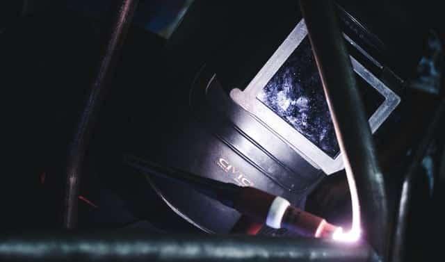image of a TIG welder making a weld