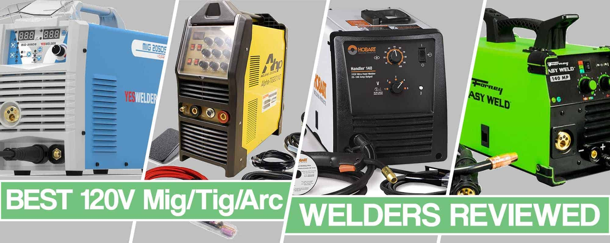 Feature image for best 120v welder article